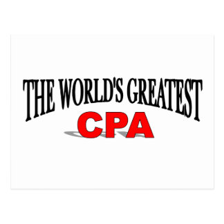 The World's Greatest CPA Postcard