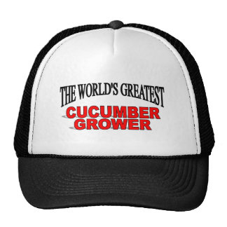 The World's Greatest Cucumber Grower Cap