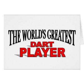 The World's Greatest Dart Player Card
