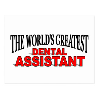 The World's Greatest Dental Assistant Postcards