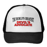 The World's Greatest Devil's Advocate Mesh Hat