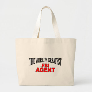The World's Greatest FBI Agent Tote Bags