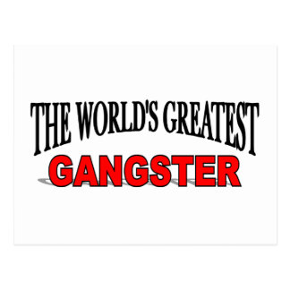 The World's Greatest Gangster Postcard