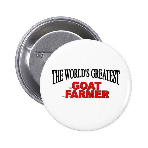 The World's Greatest Goat Farmer Pin