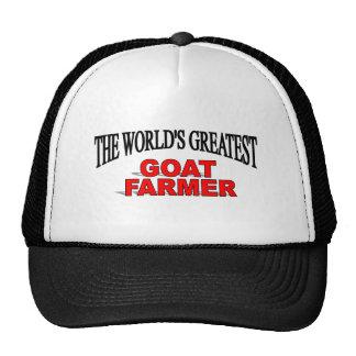 The World's Greatest Goat Farmer Hats