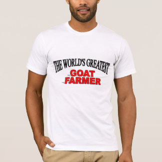 The World's Greatest Goat Farmer T-Shirt