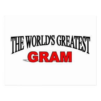 The World's Greatest Gram Postcard