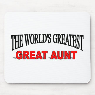 The World's Greatest Great Aunt Mouse Mat