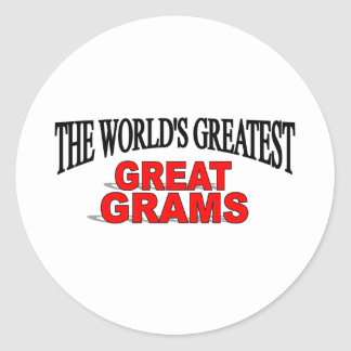 The World's Greatest Great Grams Sticker