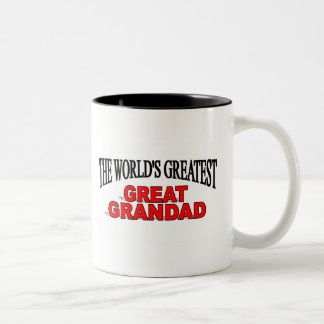 The World's Greatest Great Grandad Coffee Mugs