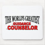 The World's Greatest Guidance Counsellor Mousemat