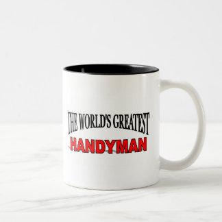The World's Greatest Handyman Coffee Mugs