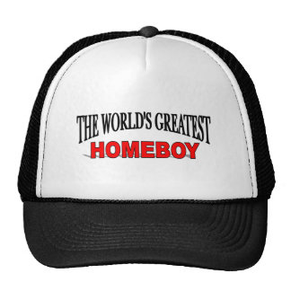 The World's Greatest Homeboy Mesh Hat