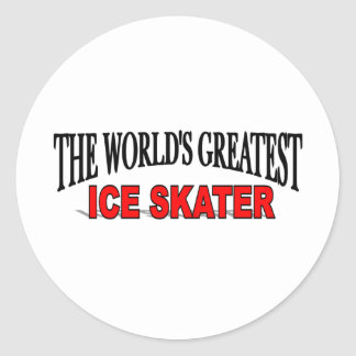 The World's Greatest Ice Skater Sticker