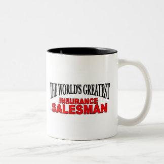 The World's Greatest Insurance Salesman Coffee Mugs