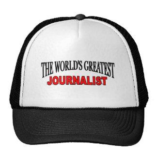 The World's Greatest Journalist Cap