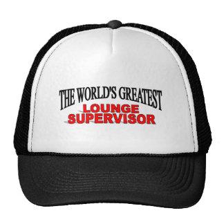 The World's Greatest Lounge Supervisor Hat