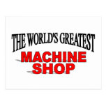 The World's Greatest Machine Shop Postcards