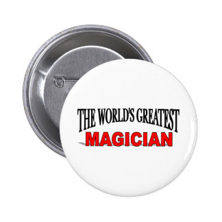The World's Greatest Magician 6 Cm Round Badge