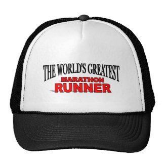 The World's Greatest Marathon Runner Mesh Hat
