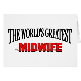The World's Greatest Midwife Cards