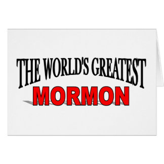 The World's Greatest Mormon Cards