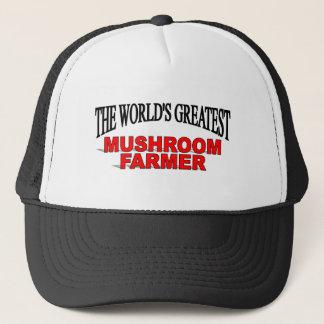 The World's Greatest Mushroom Farmer Trucker Hat