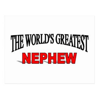 The World's Greatest Nephew Postcard