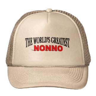 The World's Greatest Nonno Trucker Hats