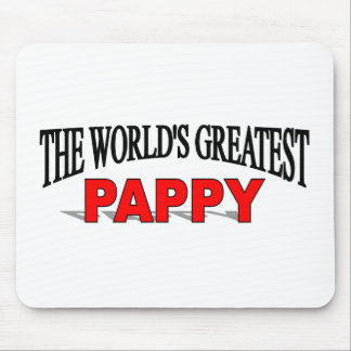 The World's Greatest Pappy Mouse Pads