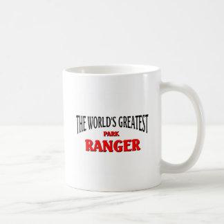 The World's Greatest Park Ranger Basic White Mug