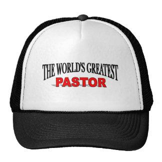 The World's Greatest Pastor Mesh Hats