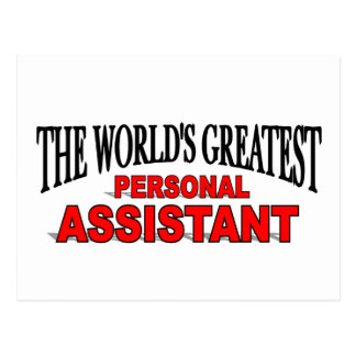 The World's Greatest Personal Assistant Postcard