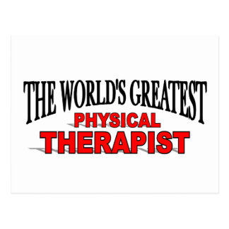 The World's Greatest Physical Therapist Post Cards