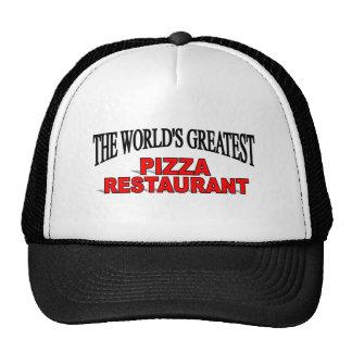 The World's Greatest Pizza Restaurant Cap