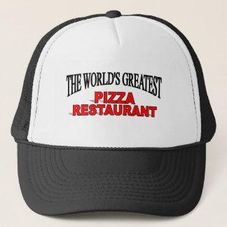 The World's Greatest Pizza Restaurant Trucker Hat