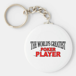 The World's Greatest Poker Player Key Ring