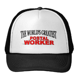 The World's Greatest Postal Worker Mesh Hat