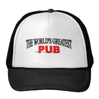 The World's Greatest Pub Trucker Hats