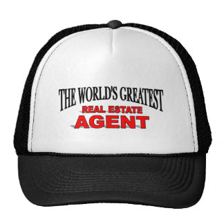 The World's Greatest Real Estate Agent Cap