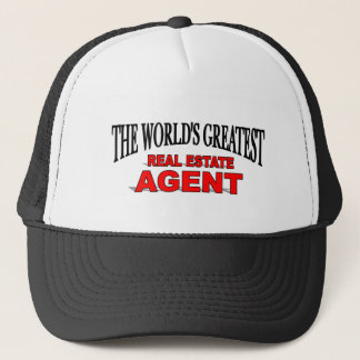 The World's Greatest Real Estate Agent Trucker Hat
