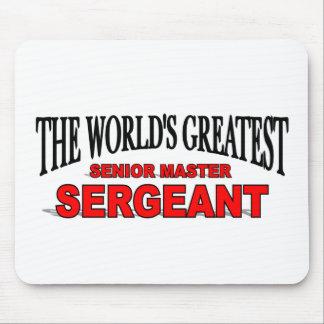 The World's Greatest Senior Master Sergeant Mouse Pad