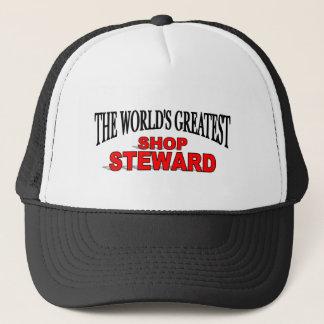 The World's Greatest Shop Steward Trucker Hat