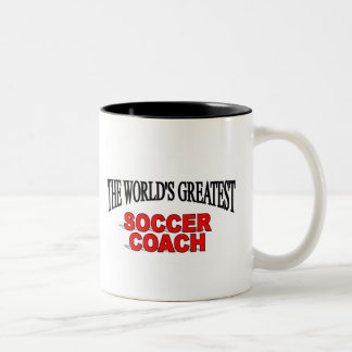 The World's Greatest Soccer Coach Coffee Mug