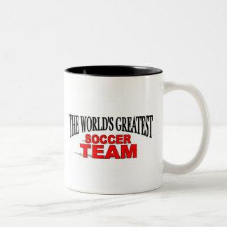 The World's Greatest Soccer Team Mugs