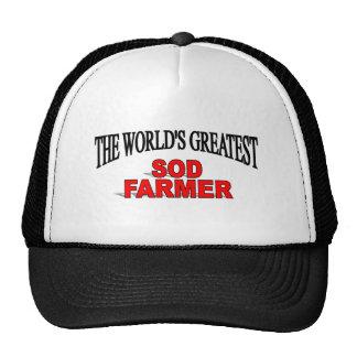 The World's Greatest Sod Farmer Mesh Hat