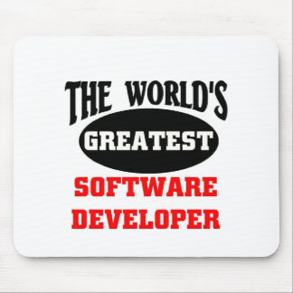 The world's greatest software developer mouse pad