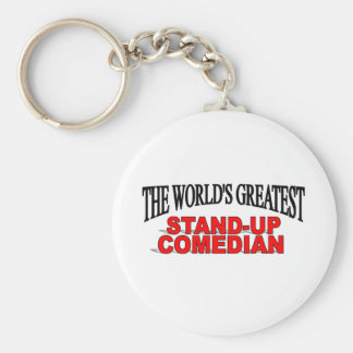 The World's Greatest Stand-up Comedian Key Ring