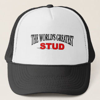 The World's Greatest Stud Trucker Hat