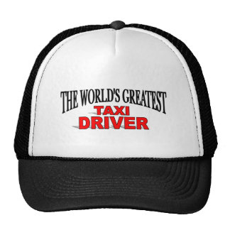 The World's Greatest Taxi Driver Cap